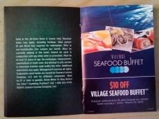 Village Seafood Buffet Coupon