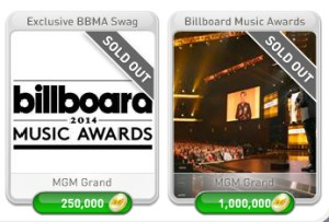 myVEGAS Billboard Music Awards