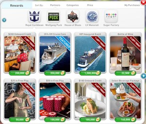 myVEGAS Royal Caribbean Cruise Rewards page 1
