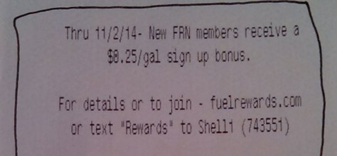 FRN sign up promo