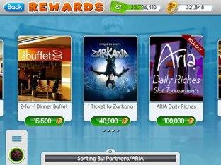 Aria myVEGAS Rewards