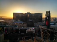Sunrise over MGM Grand