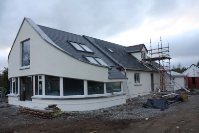 Refurbishment & extensions to dormer bungalow; County Mayo