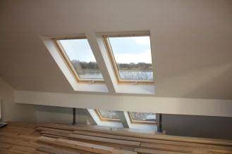 Mezzanine/rooflights