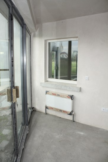 View of sun room showing internalise window