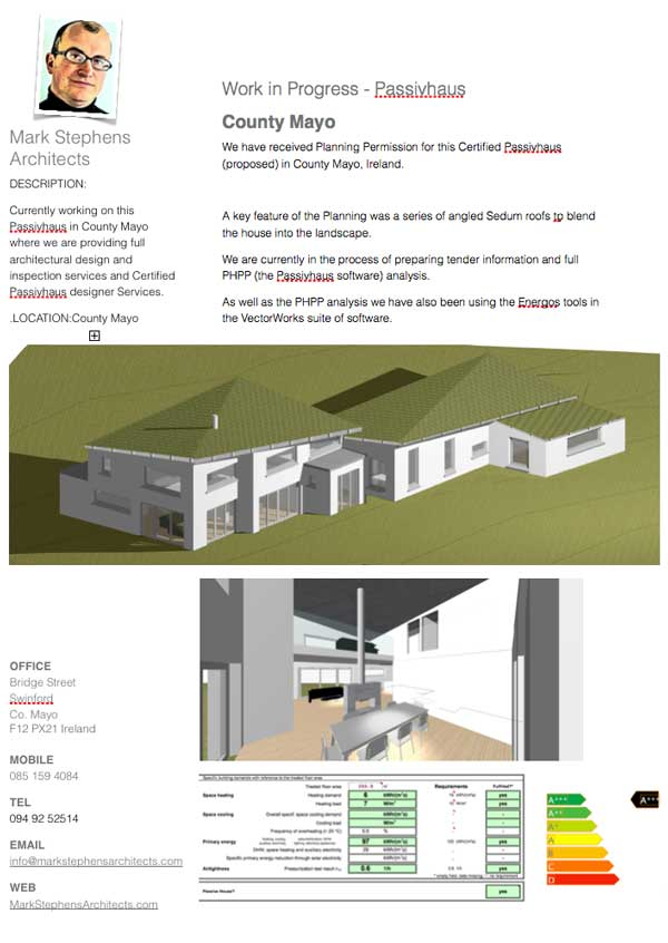 architect designed passivhaus