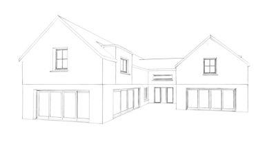 Planning granted westport house architect designed