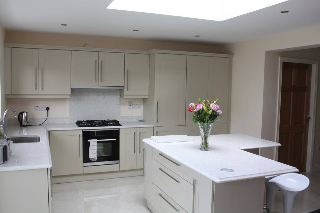 Recently Completed Extension Including New Kitchen U0026 Utility, Co. Galway ( Kitchen By Conroy Kitchens)