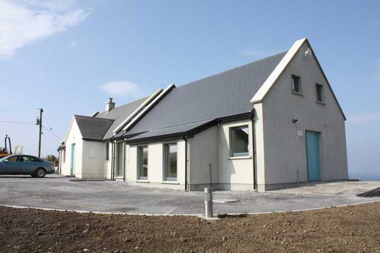 Contemporary AND Traditional extension to modern cottage - County Clare