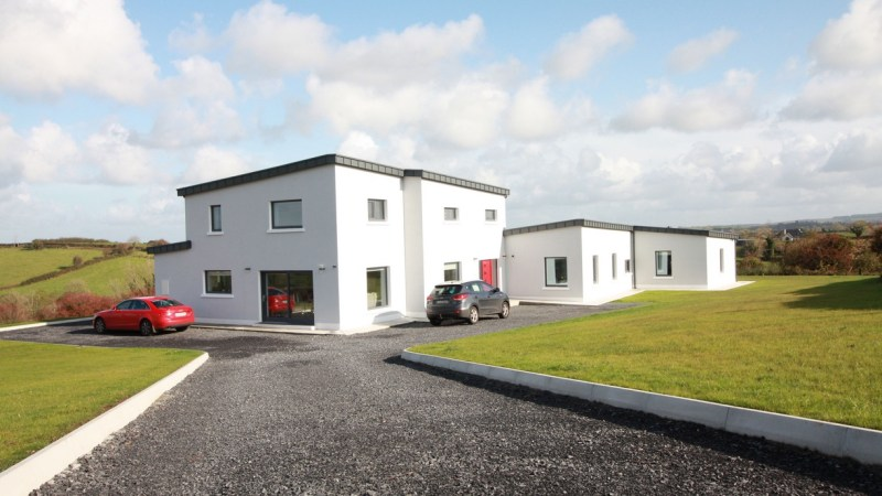 Passive House (uncertified) in Mayo completed (built by LongLife Structures)