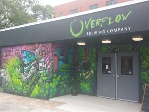 Overflow Brewing Company near Tropicana Field in St. Petersburg, Florida