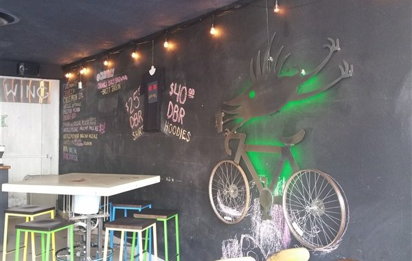 Interior of Cycle Brewing in St. Petersburg, Florida