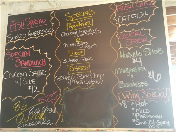 Daily Specials at Urban Comfort Restaurant and Brewery in St. Pete