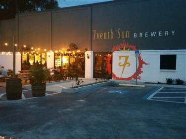 7venth Sun Brewery building in Tampa, Florida