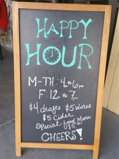 Happy Hour at Brew Bus Brewing in Tampa, Florida