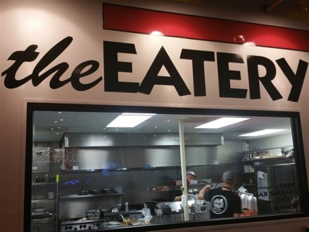 The Eatery is the name for the food kitchen at Brew Bus Brewing in Tampa, Florida