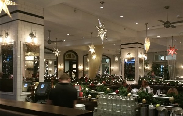 Dining room at Cassis in downtown St. Petersburg, FL