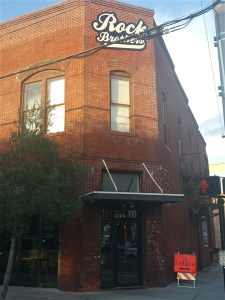 Rock Brothers Brewing in Centro Ybor in Tampa, Florida features live music and craft beer