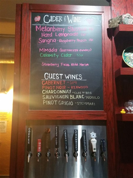 Wine and Cider at Southern Brewery and Winemaking in Tampa, Florida