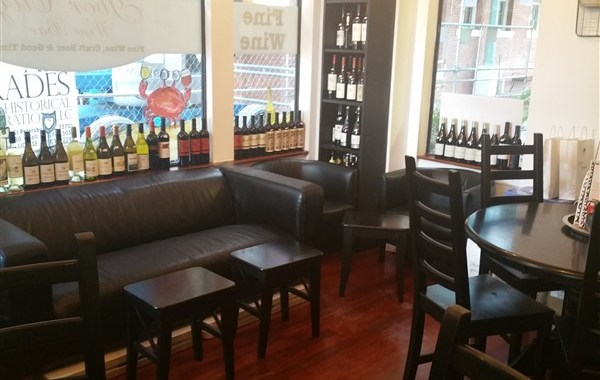 Lounge Area at Ybor City Wine Bar in Tampa