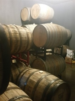 Barrel aged beer at Zydeco Brew Werks in Centro Ybor in Tampa