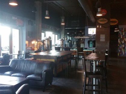 The tap room at the Pour House in downtown Tampa