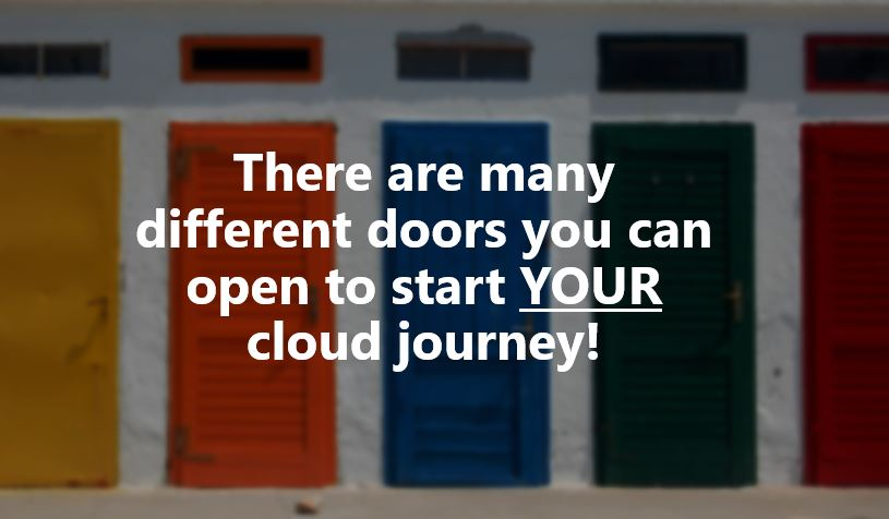 Cloud Adoption - Which Cloud Door Will You Open? & Quantifying Cloud Adoption - Is It Really Happening? - Mark Torr
