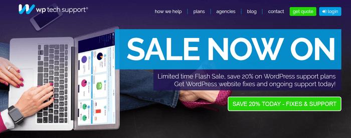 WP Tech Support: WordPress Technical Help a Click Away