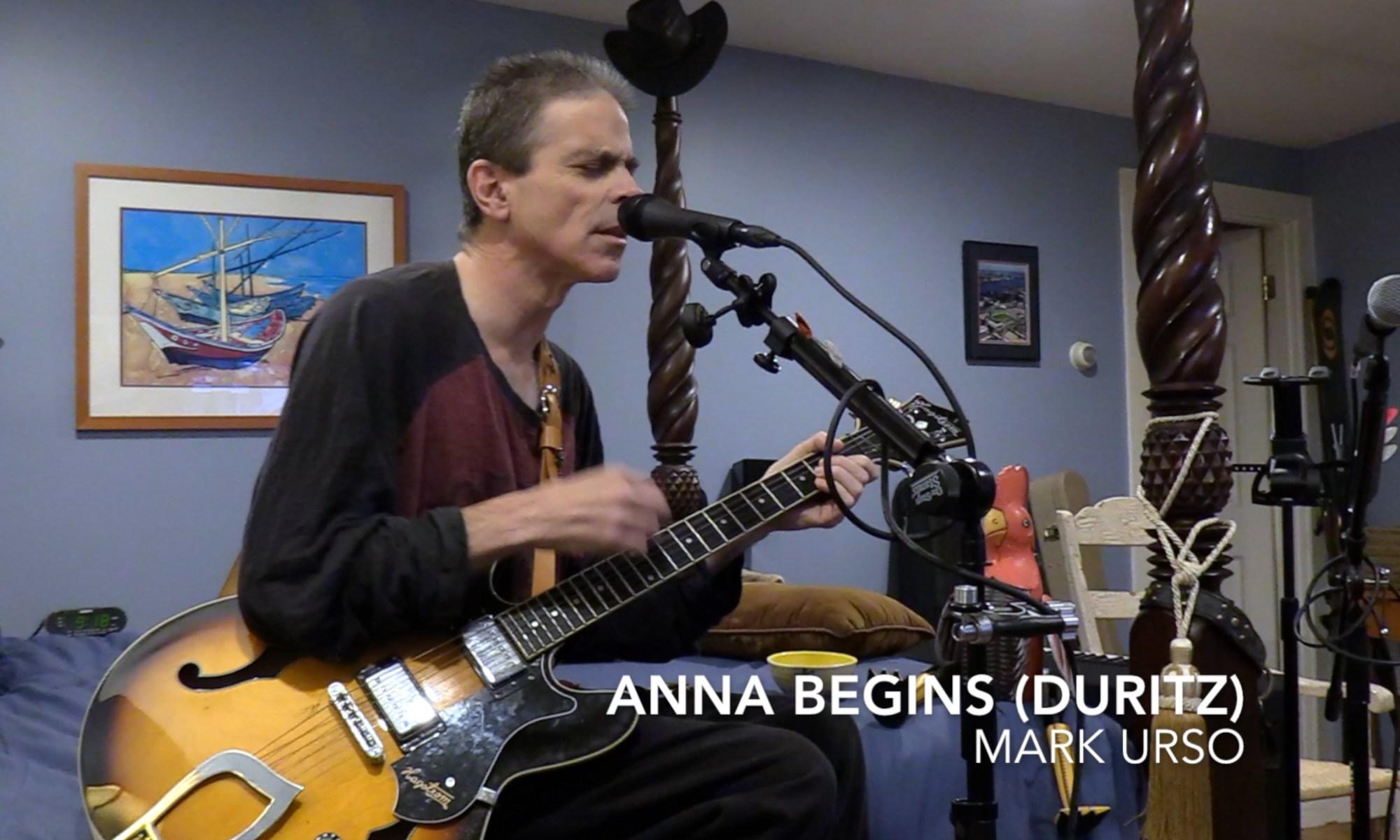 mark urso - anna begins