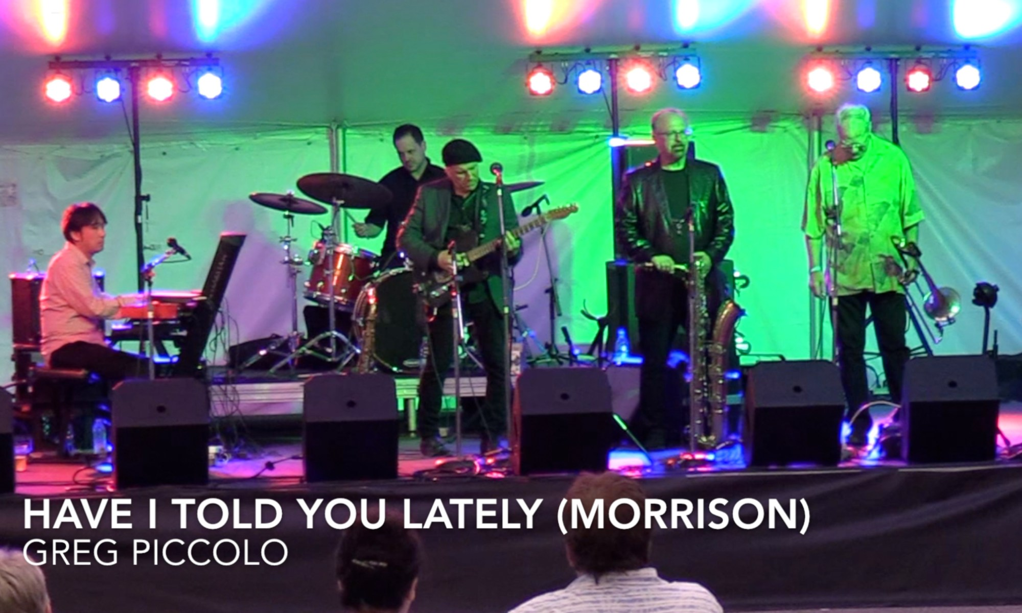 Greg Piccolo, Van Morrison, Have I Told You Lately