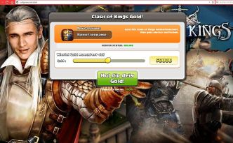 Betrug mit Clash of Kings Goldversprechen