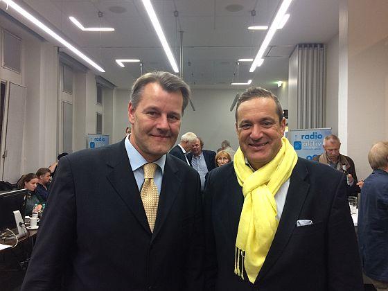 Die beiden FDP-Kandidaten für unseren Landkreis: Markus Burgdorf und Roman von Alvensleben (v.l.n.r.)