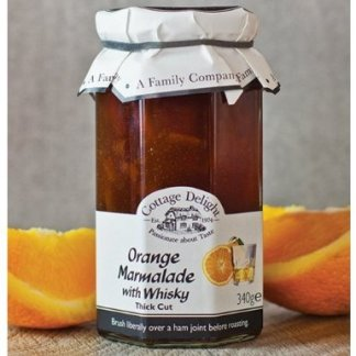 Cottage Delight Orange Marmelade med Whisky