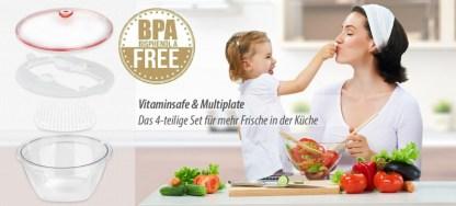 Vitaminsafe Multiplate Transparent