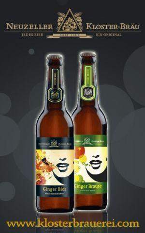 Klosterbrauerei Neuzelle Ginger Bier og Ginger Brause