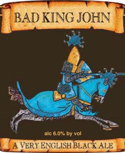 Ridgeway Bad King John label