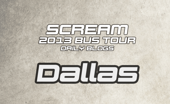 Scream Tour Blog: Denver