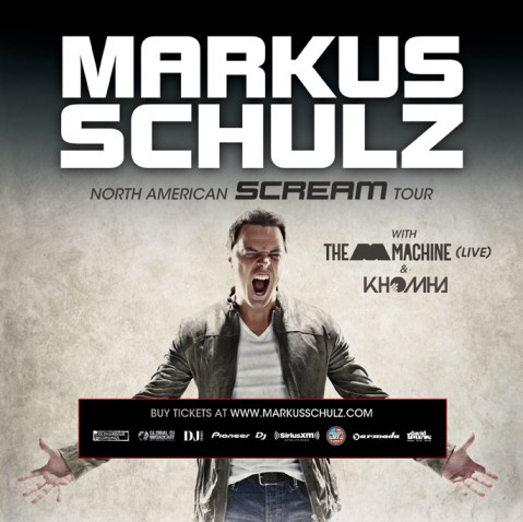 Scream Tour Flyer