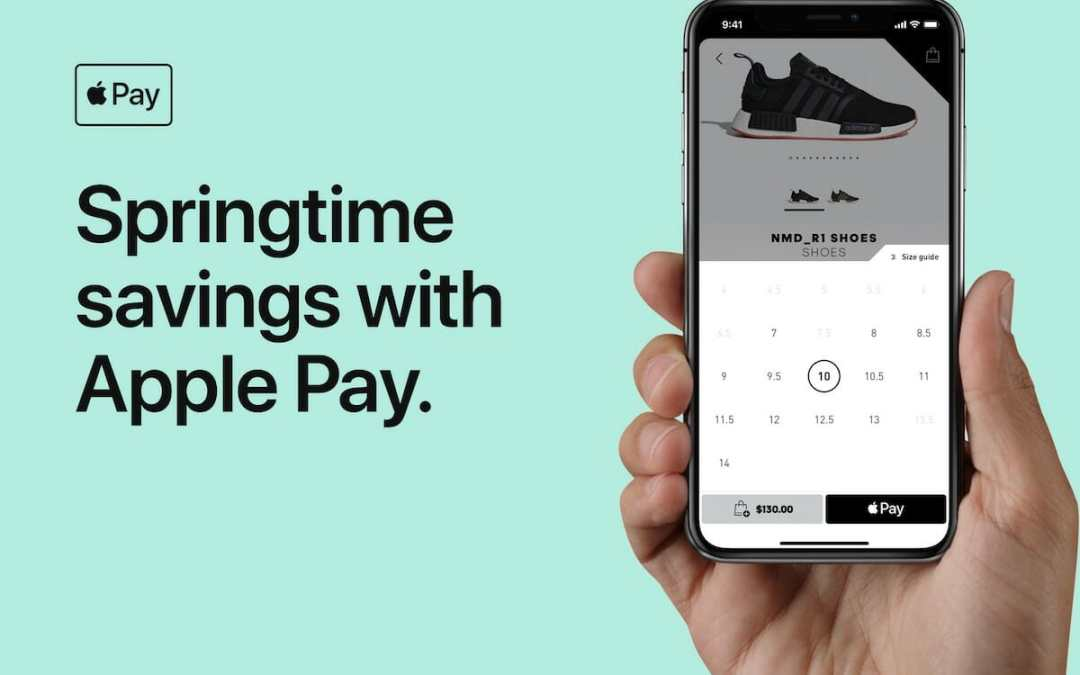Apple Pay: 20% Rabatt bei Adidas