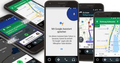 Google Assistant Parkplatz