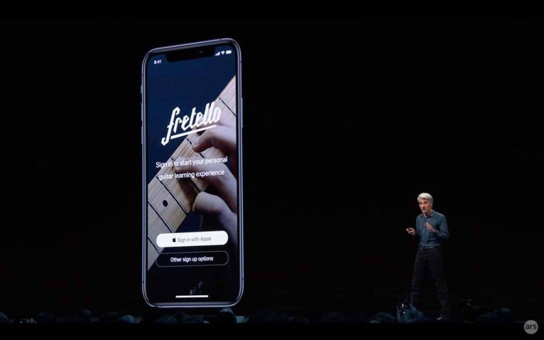 """""""Sign in with Apple"""" – Neue Login-Methode wird Pflicht für Apps mit ähnlichen Optionen"""