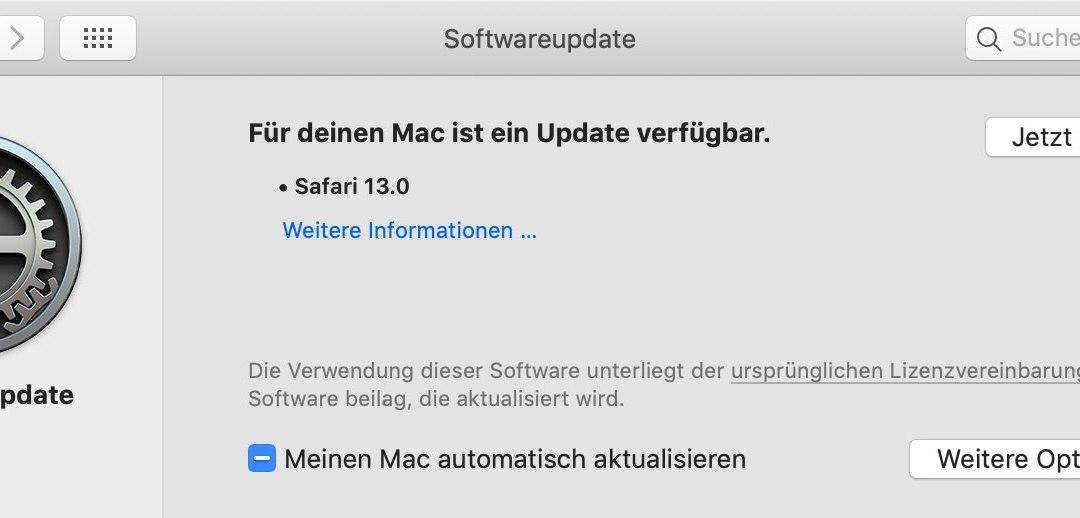 macOS: Safari 13.0 steht zum Download bereit