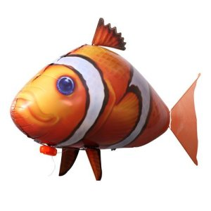Fliegende Fische: Clown-Fisch ferngesteuert