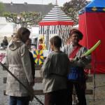 Ballonkünstler Markus Toni Vallen auf dem Kappesfest 2014
