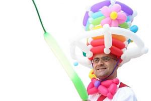 Ballonkünstler Markus Toni Vallen begeistert alle!