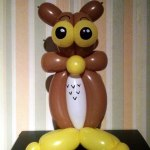 Ballon-Eule balloon-owl