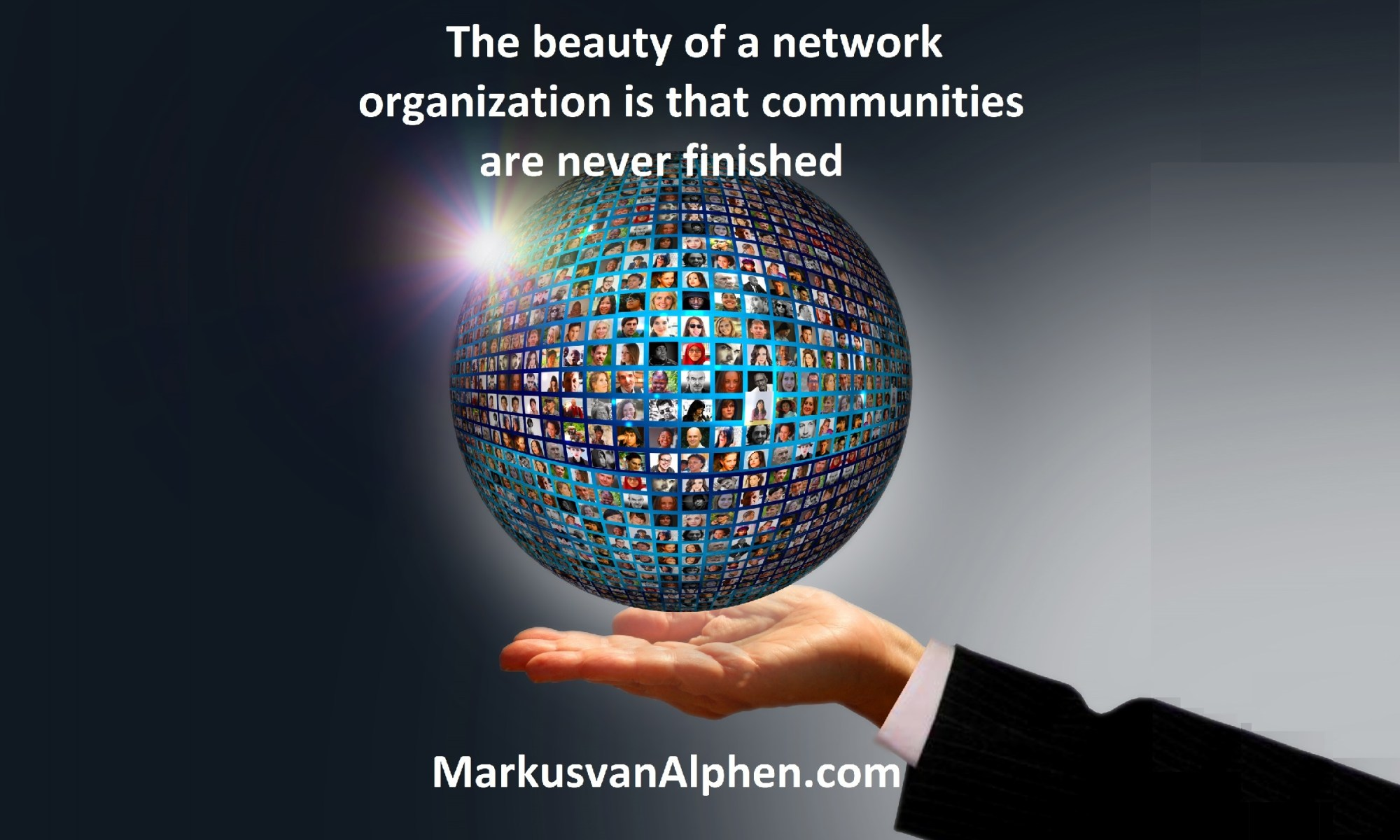 Leading towards a network organization- MarkusvanAlphen.com