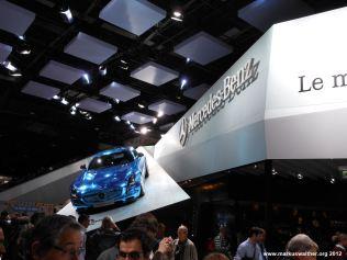 Mercedes SLS Mondial de l'Automobile 2012 Paris