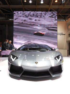 Lamborghini Mondial de l'Automobile 2012 Paris