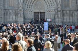 Kapelle vor der Gotischen Kathedrale La Seu